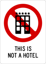 This is not a hotel